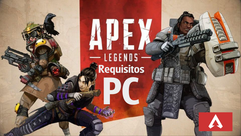 Requisitos para jugar a Apex Legends para PC