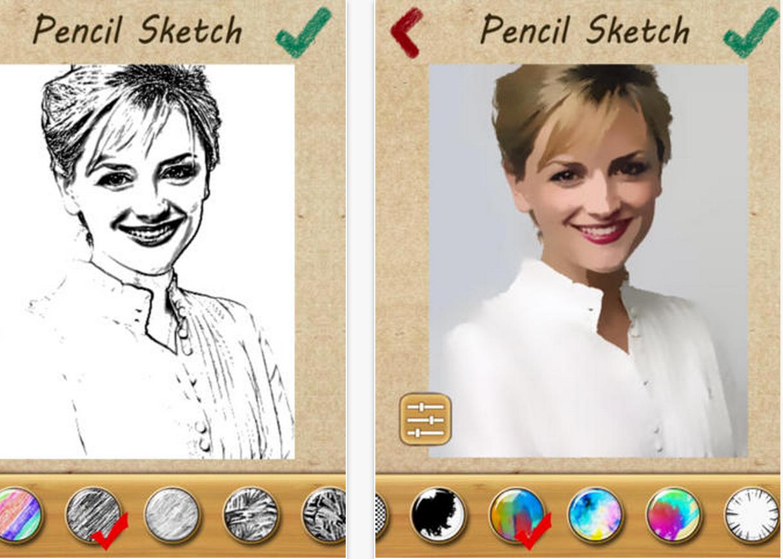 aplicaciones para convertir fotografías en dibujos