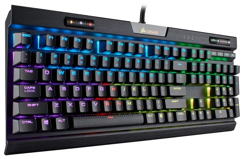 review en español Corsair K70